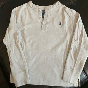 Boy's Ralph Lauren Long Sleeve Shirt Size 8